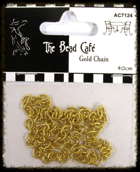 Craftime Bead Cafe Gold Chain